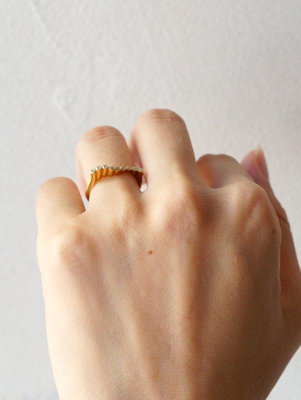 GICLAT ring 【G25R8Y】 K18