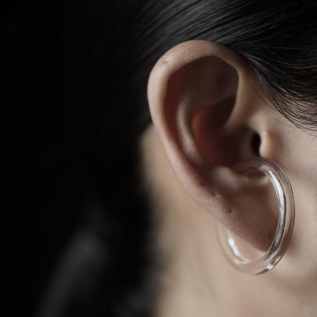 bubun (ブブン) solo - HOOP [L] - earcuff