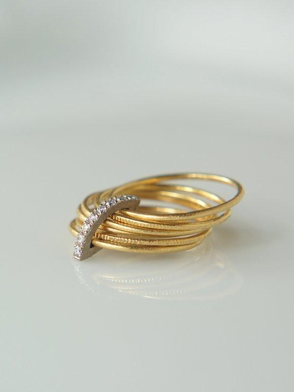 GICLAT ring 【G24R3K】 K18