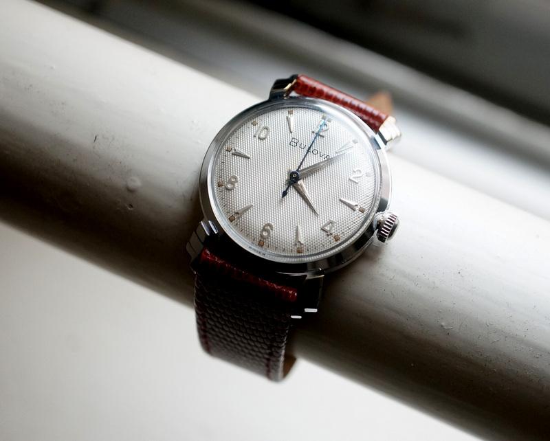 Vintage / BULOVA 1950's 手巻き
