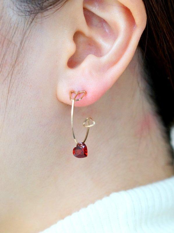 monaka jewellery ズキュンピアス (片耳用)