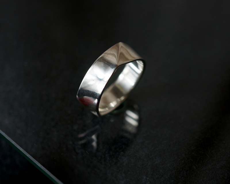 uM / FOLDING METAL LARGE SIZE RING