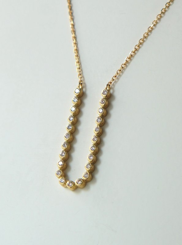 GICLAT /  necklace 【G25N1Y】 K18