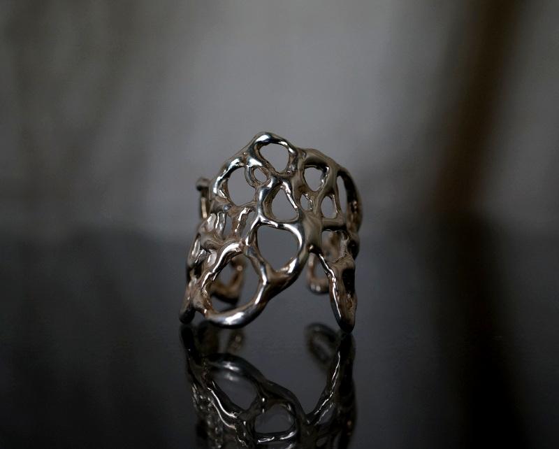 yuka ishikawa / paper cutting ring A