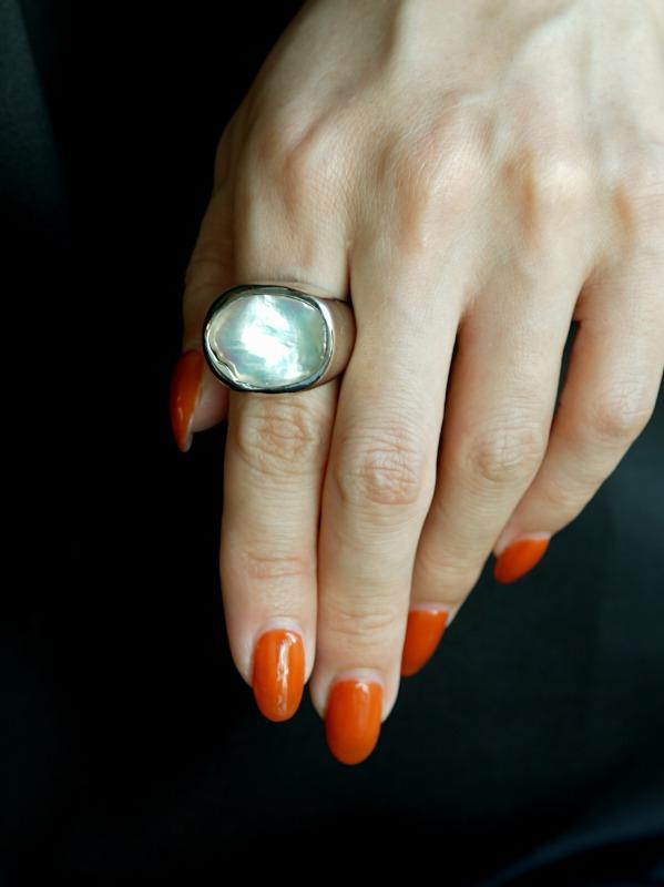 ODA/signature ring peral 17号