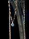 HAVITAS レーザーホールダイヤモンドネックレス ラウンドブリリアントカット 0.1ct K18GOLD