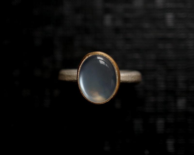 Kuraishi Takamichi /  灯りの指環   「朧月 (ムーンストーン)」
