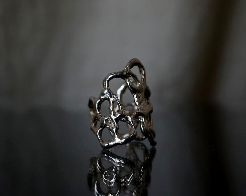 yuka ishikawa / paper cutting ring B