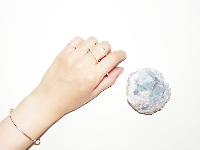 in her Moon ring