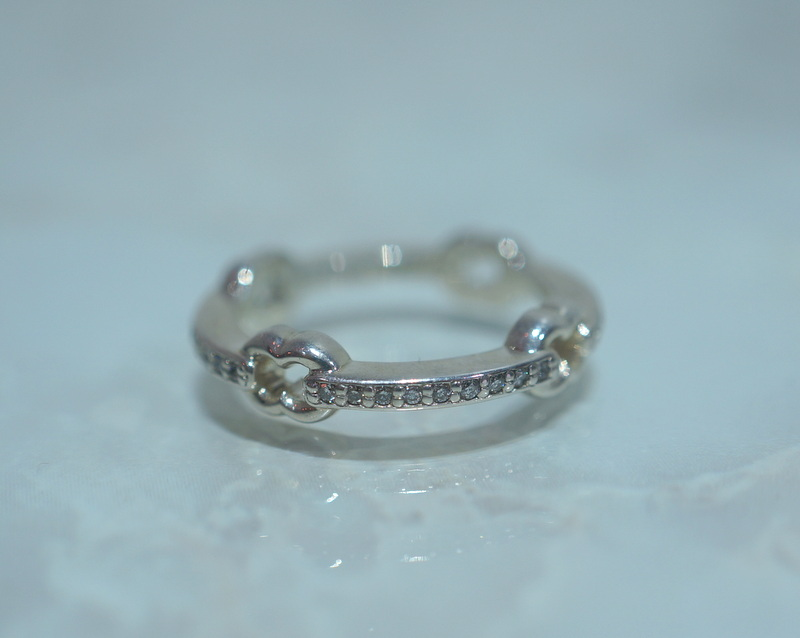 GIFTED / HOOPED IMPLOSION CHAIN RING SVD