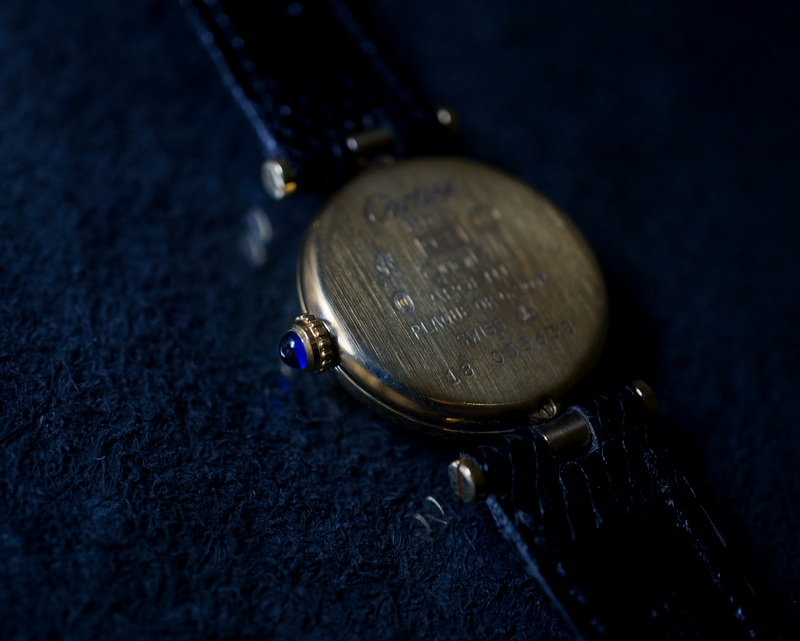 Vintage / Cartier マストヴァンドーム(033638/18)