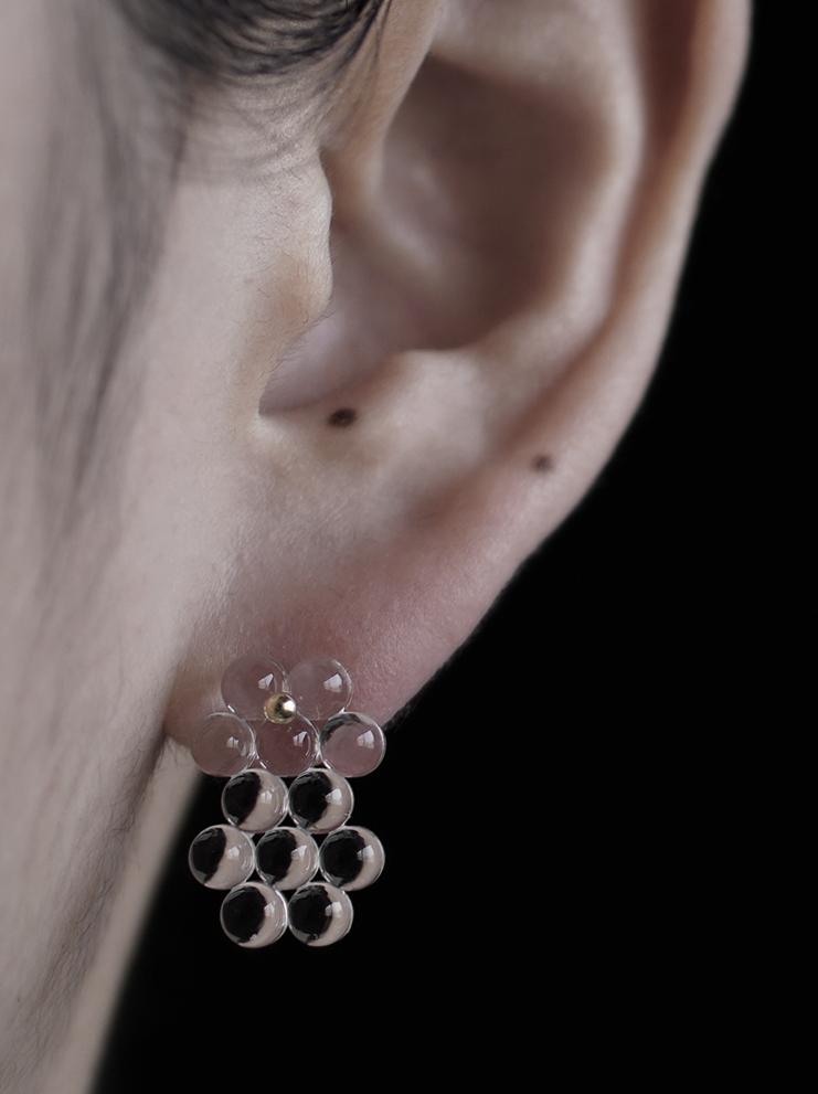 bubun (ブブン) boe-an014(XS)#1 earrings