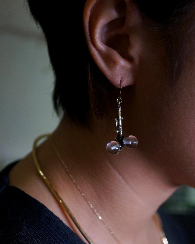 yuka ishikawa  little memory branch pierced earrings S (ペア)