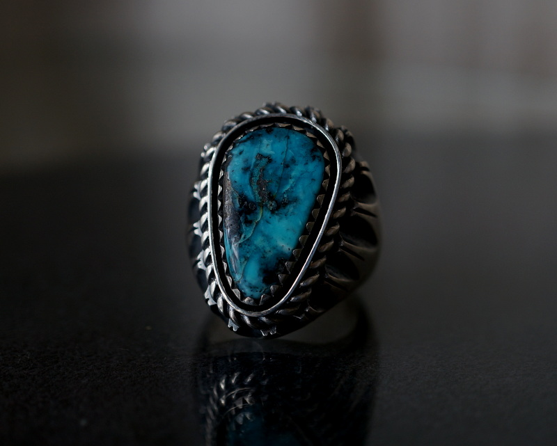 GIFTED / SHADOWN TURQUOSE RING 18号
