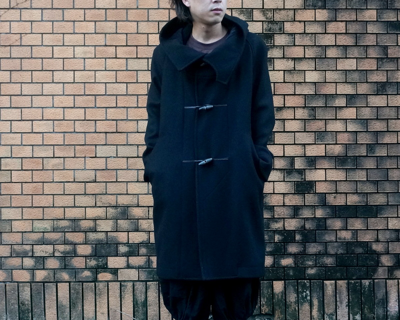 HATRA Toggle calm coat (OU06-black)