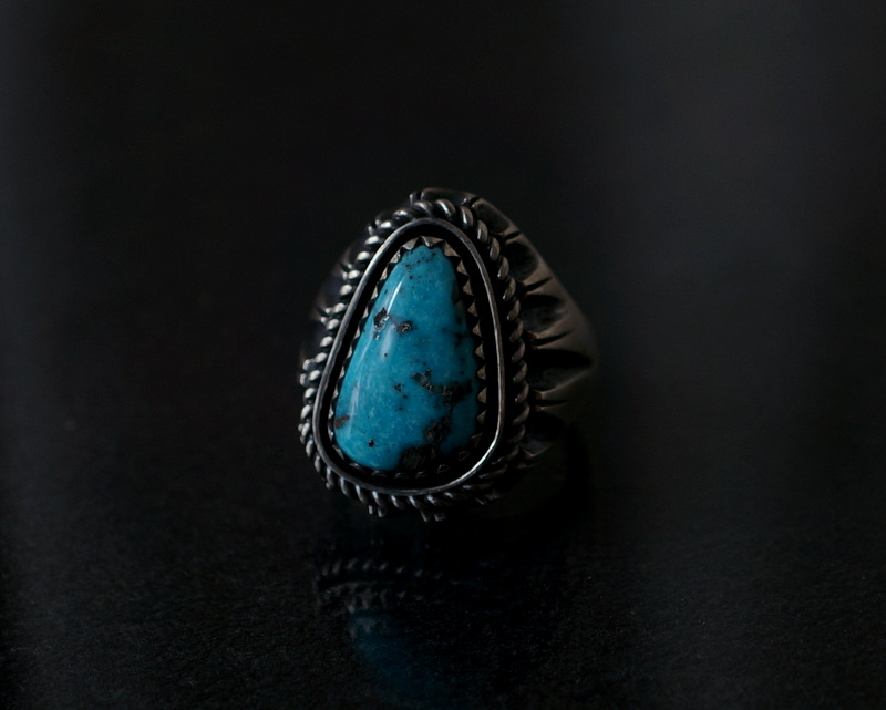GIFTED / SHADOWN TURQUOSE RING 19号