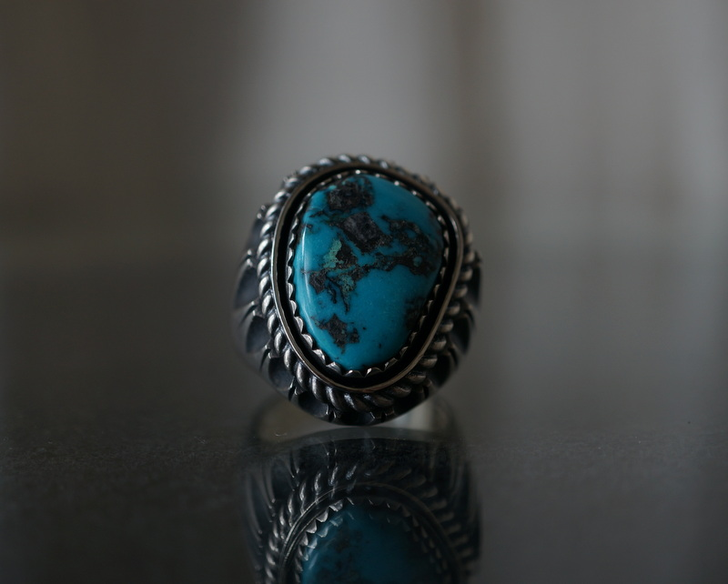 GIFTED / SHADOWN TURQUOSE RING 23号