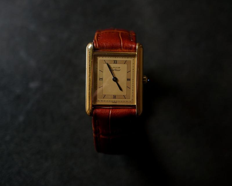 Vintage / Cartier マストタンク(681006/44246)