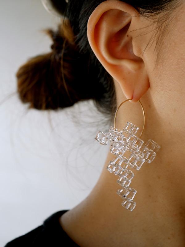 YOKO YANO(ヨウコヤノ)Earrings Salt L