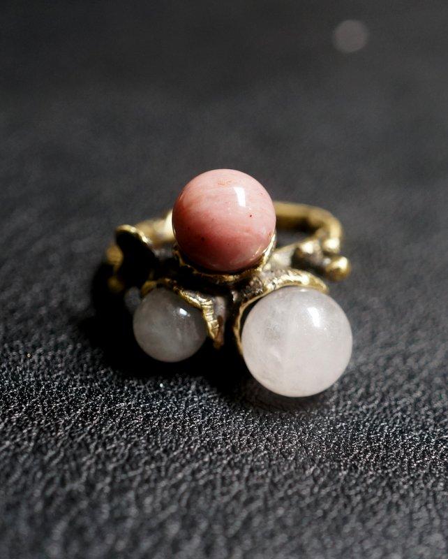 yuka ishikawa  memory branch ring (pink)
