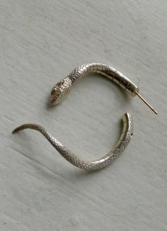 ELCAMI 蛇ピアス シルバー (EPS-074S)