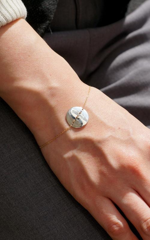 uM / stitch bracelet (circle)