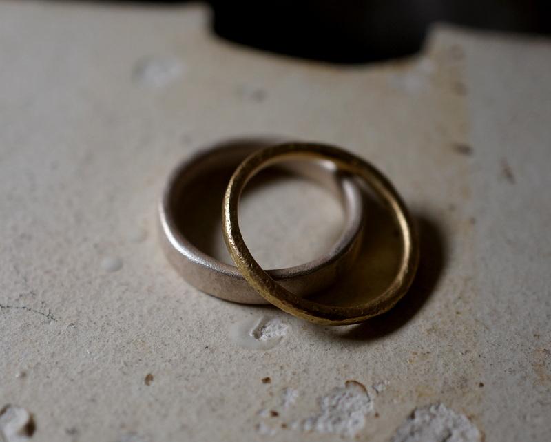 Kuraishi Takamichi /  「寄り添う二本の指環」14号