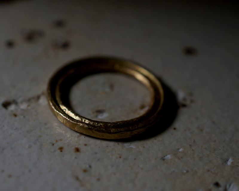 Kuraishi Takamichi /  「寄り添う純朴な指環」13号