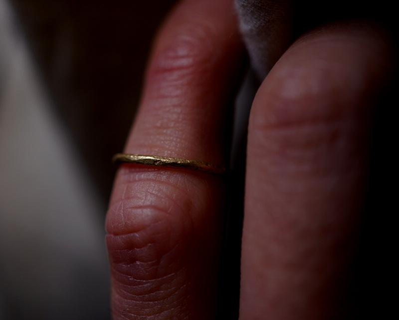 Kuraishi Takamichi /  「寄り添う純朴な指環」5号