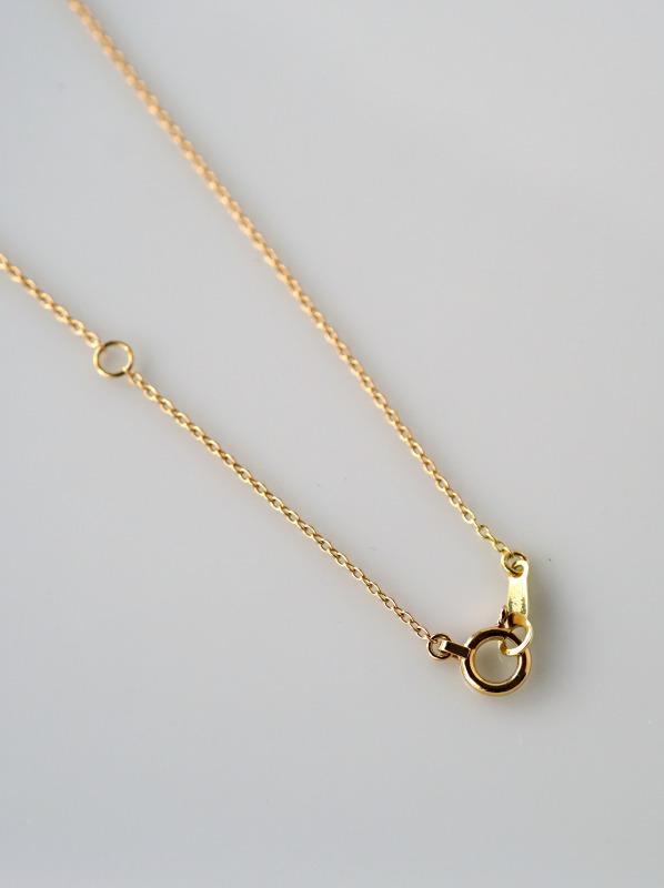WATARU YAMAZAKI (ワタル ヤマザキ)petal necklace K18PG