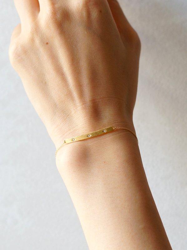 GICLAT bracelet 【G36B3Y】 K18