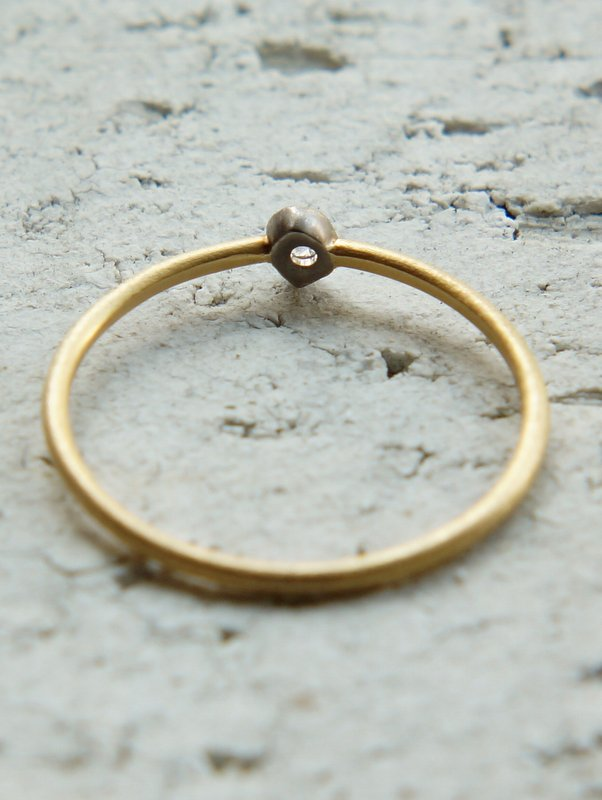 GICLAT ring【G04R3K】 K18