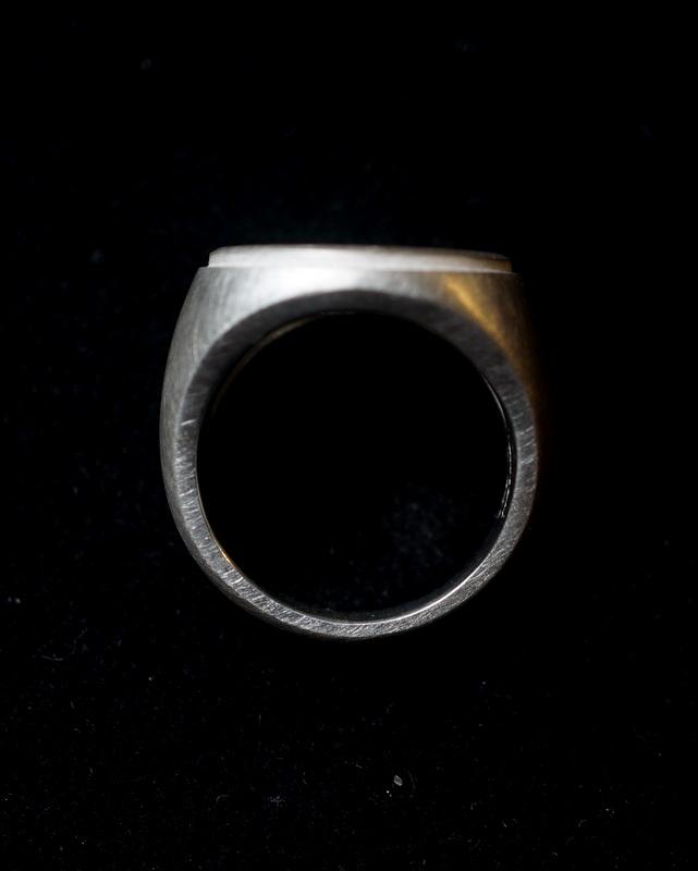 kagari yusuke × GIFTED / duct ring (silver)