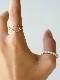 GICLAT ring 【G15R2Y】 K18