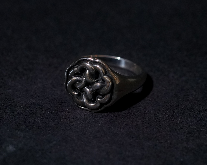 GIFTED / IMPLOSION WHEEL RING_M (BK)