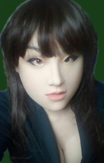 ◆シリコンフィメールマスク・メイ (ブレスト付)、ROANYER