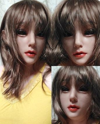 ●シリコンフィメールマスク、エミリー・EYUNG EMILY MASK