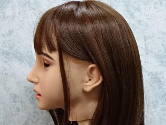 ●シリコンフィメールマスク、エミリー・EMILY MASK 化粧有タイプ