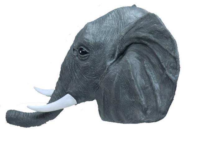 象のかぶりもの・ゾウマスク
