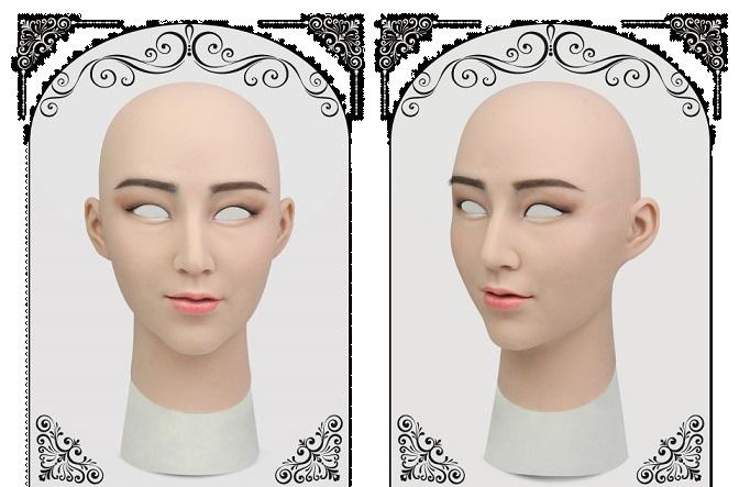 ◆シリコンフィメールマスク・ローレル、ROANYER
