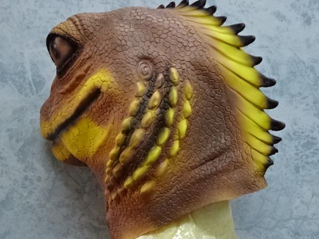 トカゲのかぶりもの・蜥蜴マスク
