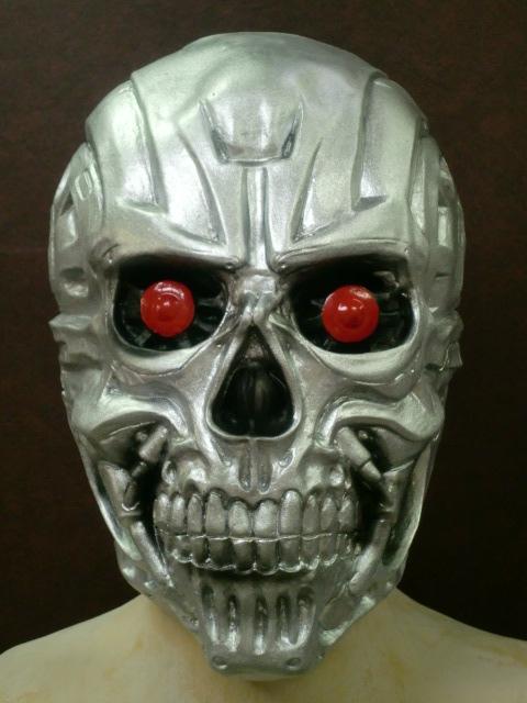 メタルガイコツマスク