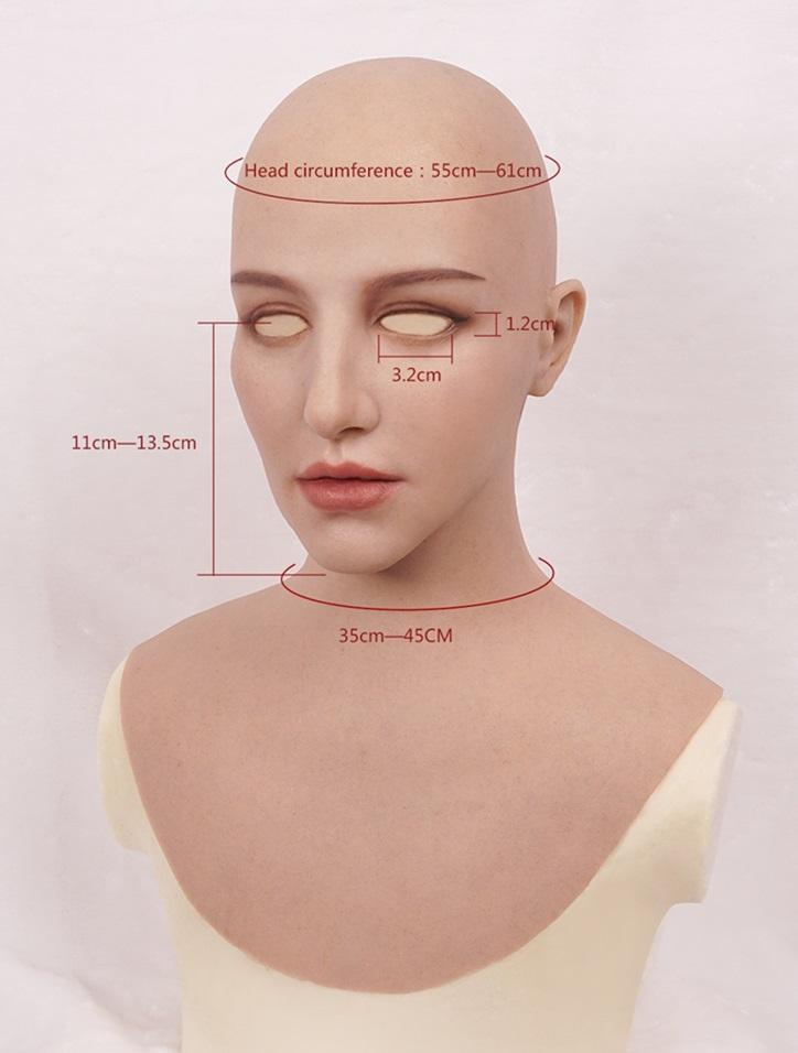 ■CELESMASK M12 Hathaway Mask (ハサウェイマスク) ・シリコンフィメール
