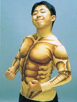筋肉マンシャツ