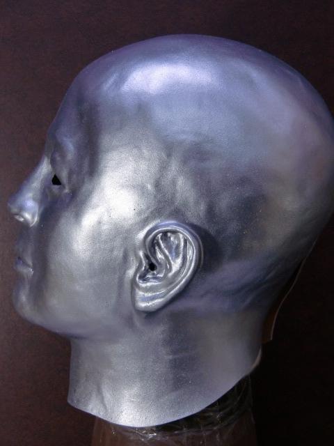 スケキヨマスク、白ぬりマスクの姉妹品・銀ぬり
