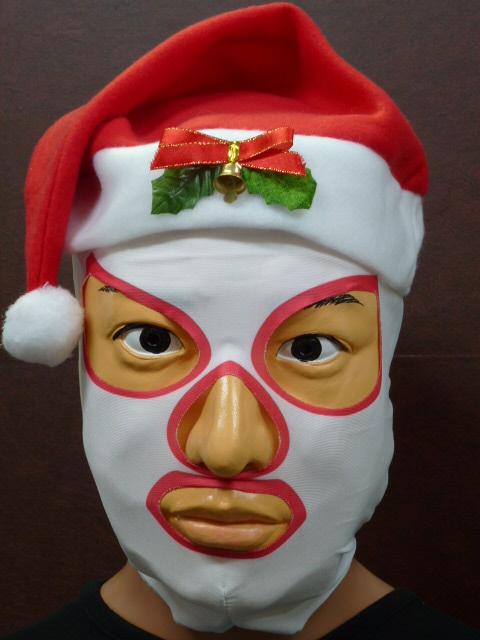 サンタのかぶりもの・サンタマスク