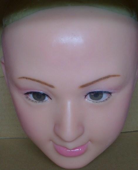 シリコンフィメールマスク・ハーフタイプD、◆St.ファンデザイン