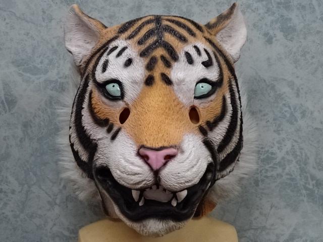 トラのかぶりもの ・タイガーマスク