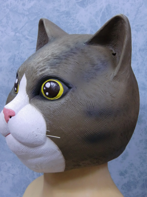 猫のかぶりもの・子猫