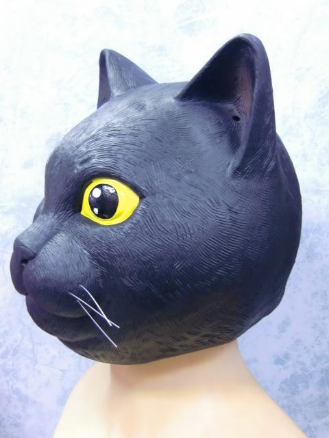 猫のかぶりもの・黒猫